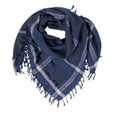 Foulard Coton Yabu Bleu