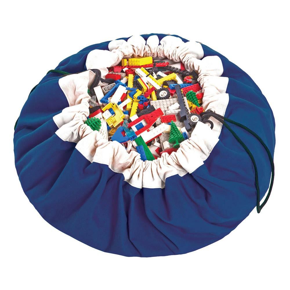 sac tapis de jeux bleu play and go d coration smallable. Black Bedroom Furniture Sets. Home Design Ideas