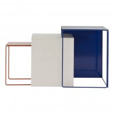 Table gigogne - Set de 3 Multicolore