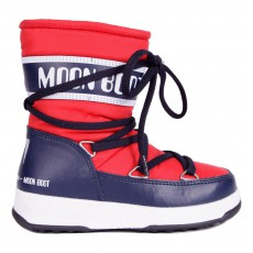 Moon Boot Sport Mid Rouge