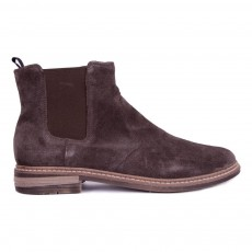 Bottines Velours Brother Jodzip Marron