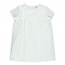 Robe Ajourée New Age Blanc