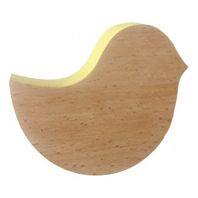 pat re oiseau en bois jaune blossom paris d coration smallable. Black Bedroom Furniture Sets. Home Design Ideas