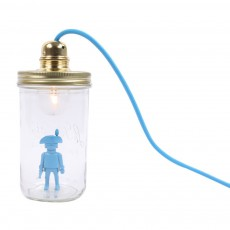 Lampe bocal à poser Playmobil Bleu turquoise