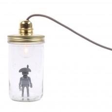 Lampe bocal à poser Playmobil Gris foncé