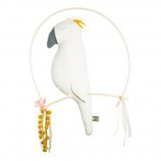 Oiseau décoratif à suspendre Nino Ecru