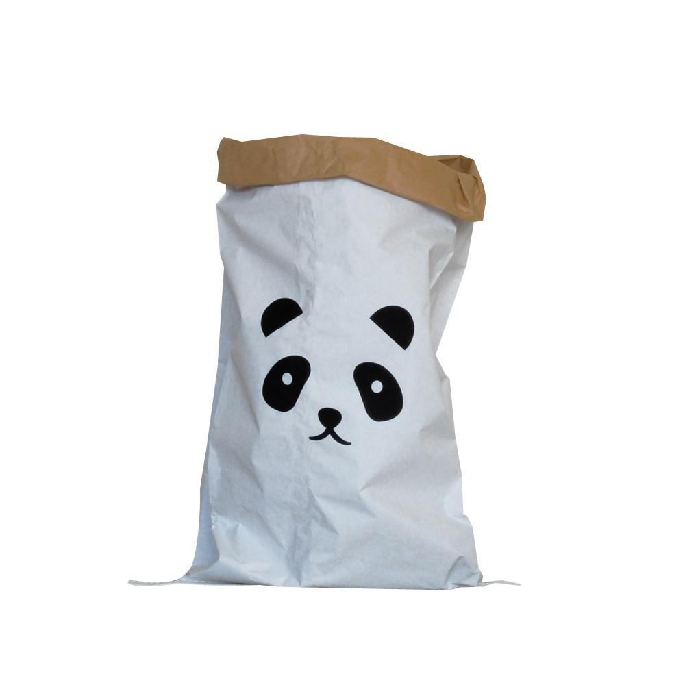sac de rangement kolor panda naturel adonde d coration. Black Bedroom Furniture Sets. Home Design Ideas