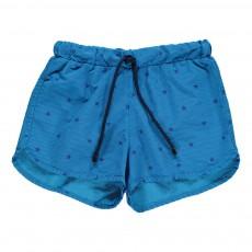 Short de Bain Rayé avec Etoiles Bahia Bleu