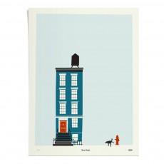 Affiche New-York 30x40 cm édition limitée Bleu