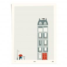 Affiche Paris 30x40 cm édition limitée Gris