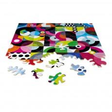 Puzzle en bois Woodi 100 pièces Multicolore