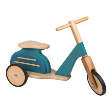Porteur Scooter Bleu