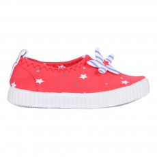 Chaussures Etoiles Marin Girl Rouge