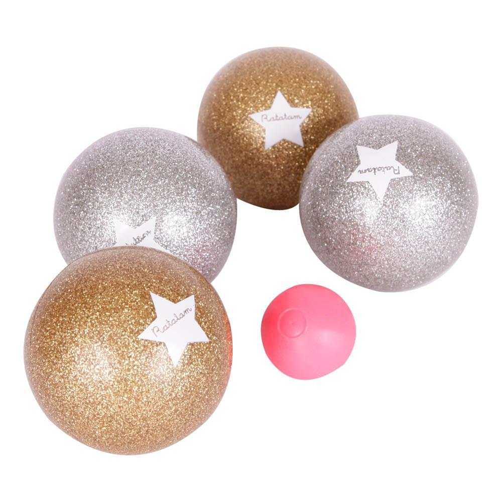 Jeu de boules dor et argent multicolore ratatam jeux jouets loisirs enfant smallable - Jeux de bouee ...