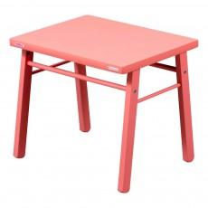 Table enfant - Laqué Bouton de rose