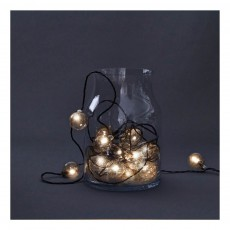 Guirlande lumineuse - 16 ampoules Transparent
