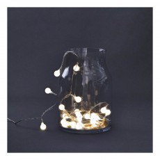 Guirlande lumineuse - 30 ampoules Transparent
