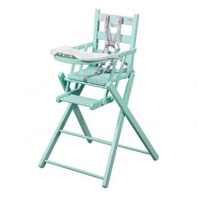 Chaise haute extra pliante vert menthe combelle univers for Chaise haute combelle extra pliante