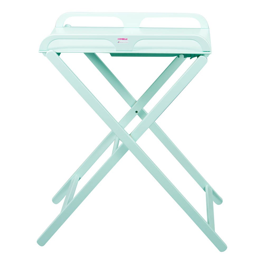 Table langer pliante jade vert menthe combelle univers for Table a carte pliante