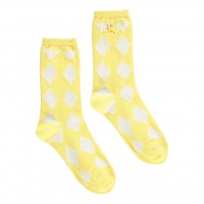 Chaussettes Losanges Diamonds Jaune