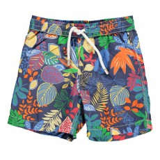Short Bain Jungle Achille Bleu marine