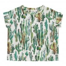 Top Cactus Human Blanc