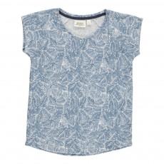 T-Shirt Lin Totem Bleu
