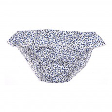 Culotte Bain Liberty Prunes Bleu