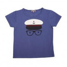 T-Shirt Capitaine Bleu marine