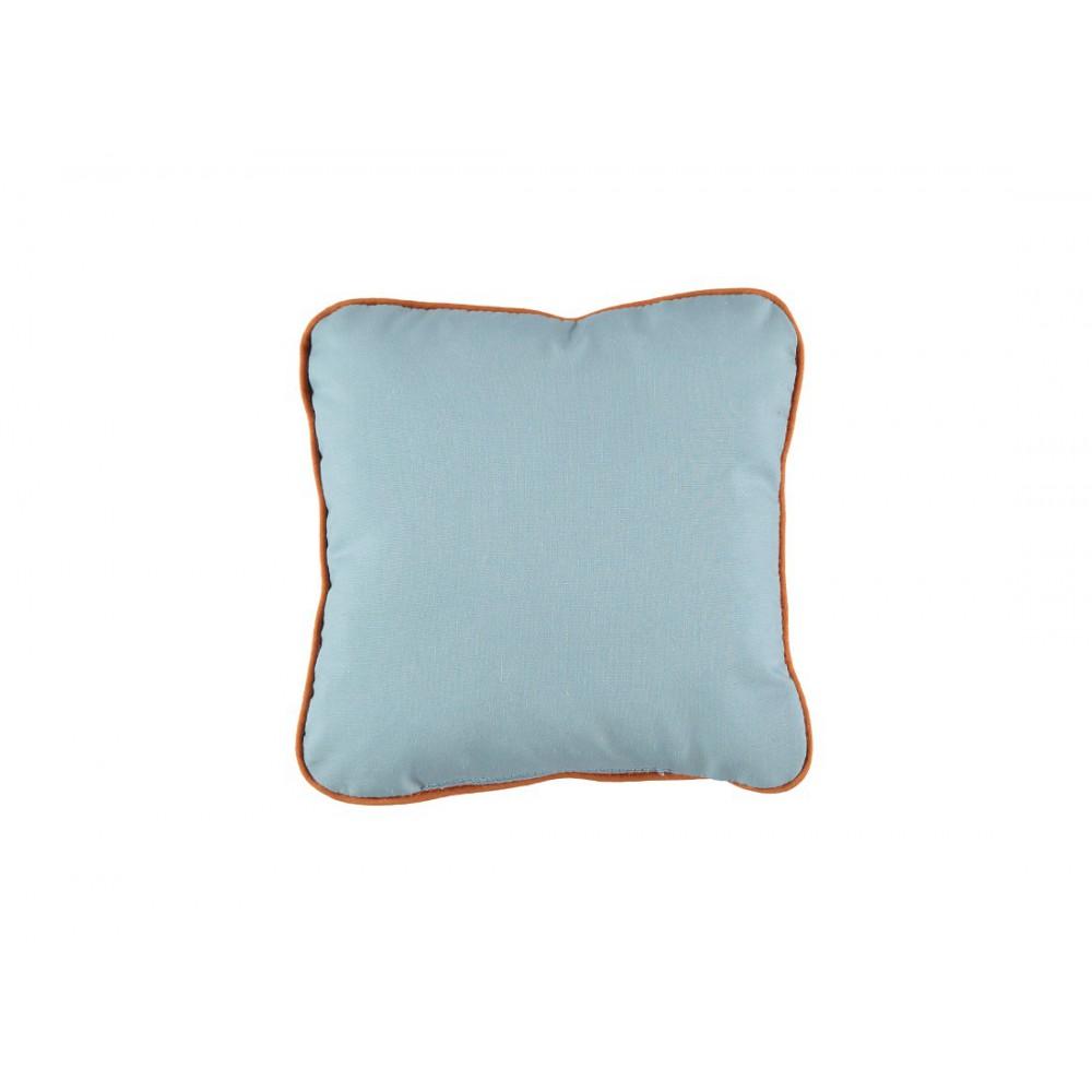 coussin en coton garni carr bleu ciel nobodinoz. Black Bedroom Furniture Sets. Home Design Ideas