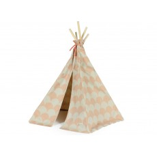 Tipi mini Arizona en coton écailles Rose