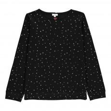 T-Shirt Etoiles Mariu Noir