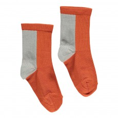 Chaussettes Cerf Rouille