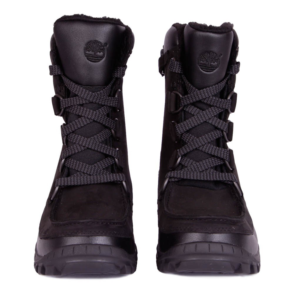boots neige fourr es lacets zipp es chillberg noir timberland chaussures b b smallable. Black Bedroom Furniture Sets. Home Design Ideas