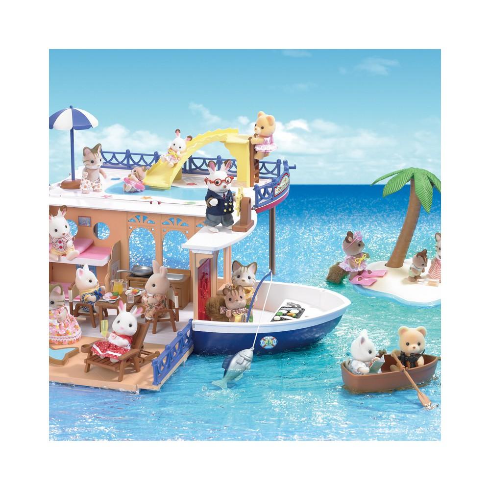 bateau de croisi re sylvanian jeux jouets loisirs enfant smallable. Black Bedroom Furniture Sets. Home Design Ideas