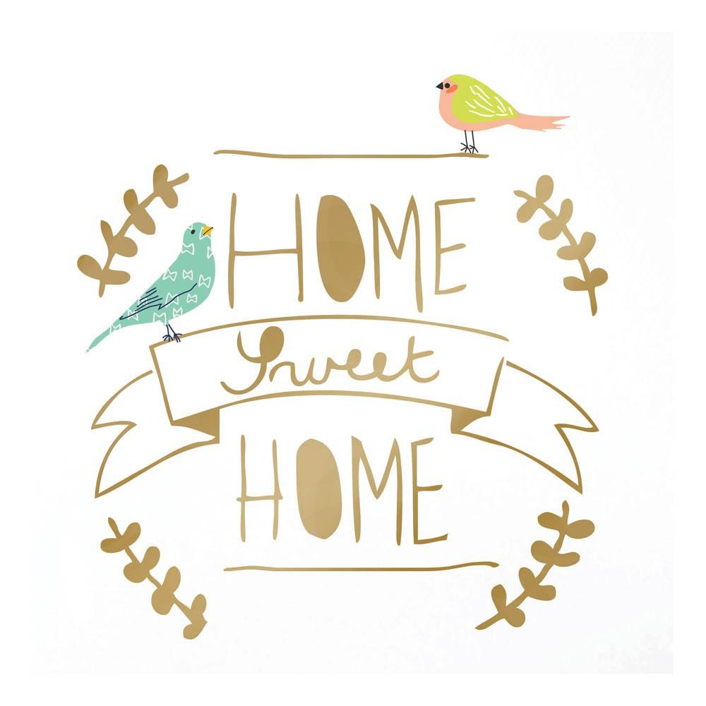 sticker home sweet home dor mimi 39 lou d coration smallable. Black Bedroom Furniture Sets. Home Design Ideas