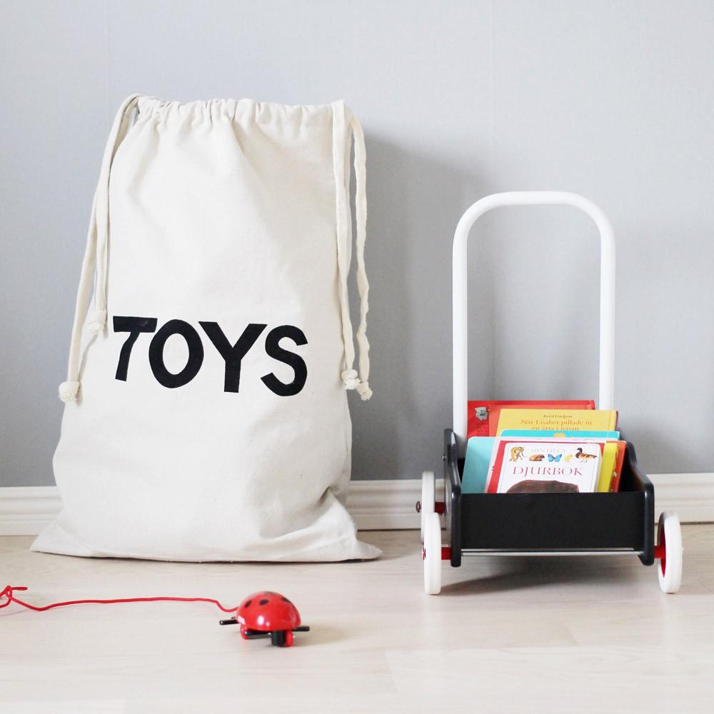 sac de rangement en tissu toys tellkiddo d coration smallable. Black Bedroom Furniture Sets. Home Design Ideas