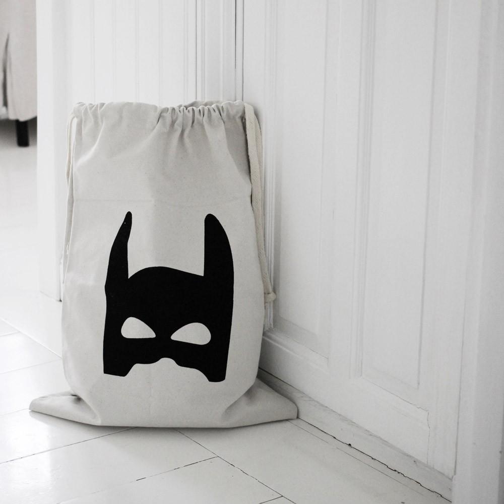 sac rangement en tissu super h ros tellkiddo d coration smallable. Black Bedroom Furniture Sets. Home Design Ideas