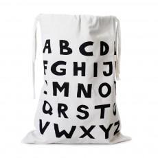 Sac de rangement en tissu Alphabet