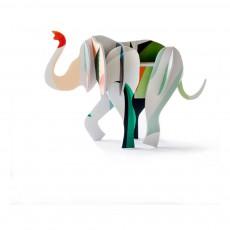 Jeu de construction Totem éléphant