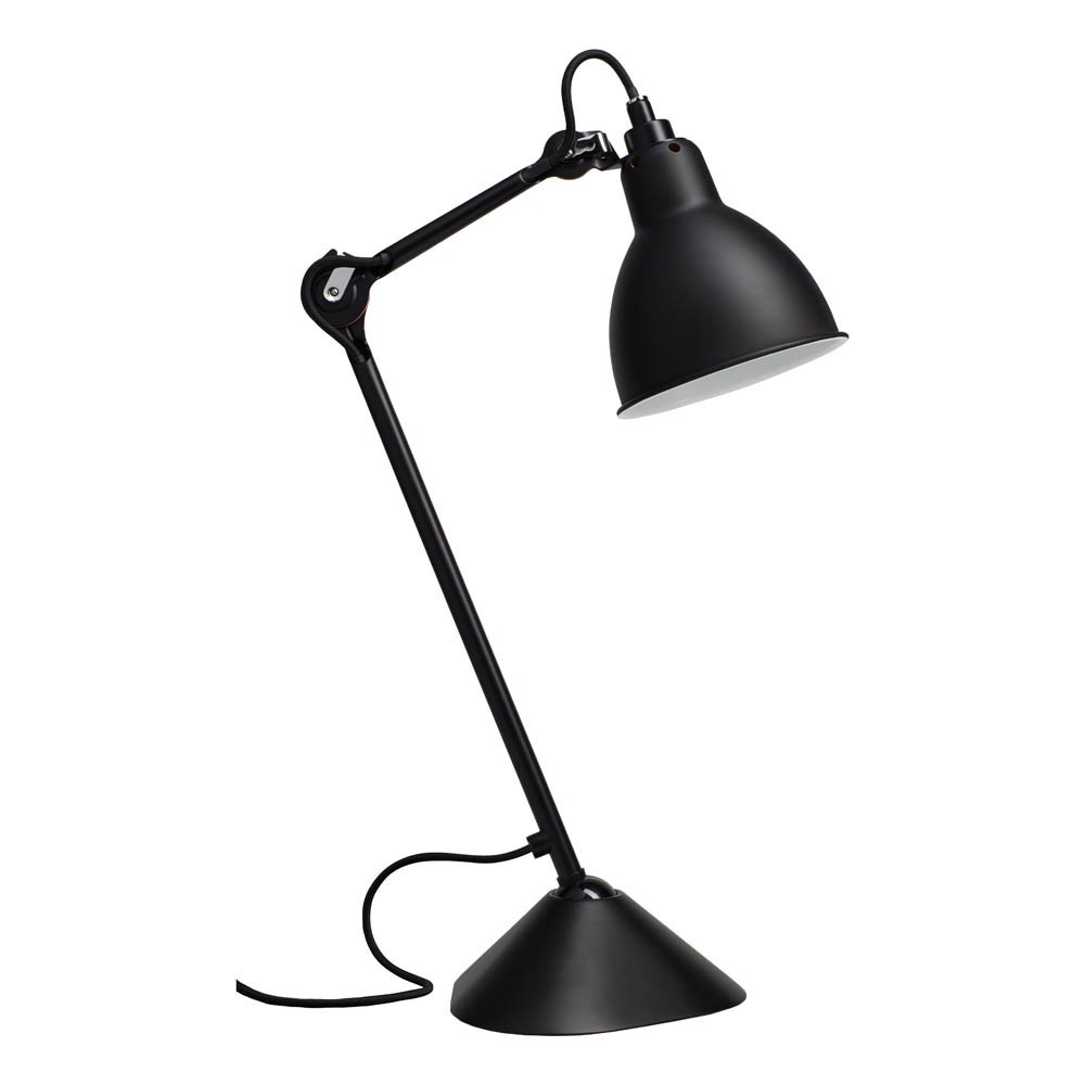 Lampe poser gras n 205 noir gras d coration smallable for But lampe a poser