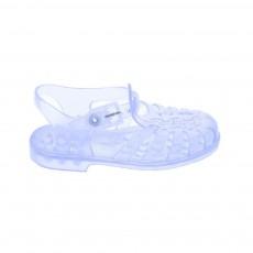 Sandales en plastique Transparent