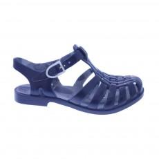 Sandales en Plastique Sun Bleu marine