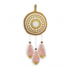 Suspension musicale Feather Love Multicolore