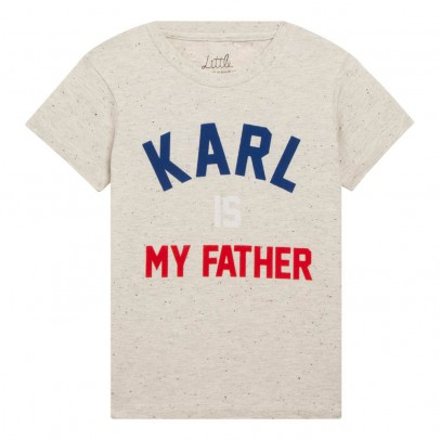 Image du produit T-Shirt Karl Is My Father Gris chiné