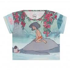 T-Shirt Cropped Junflower Vert