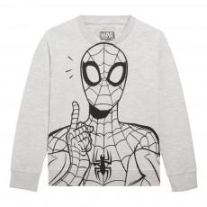 Sweat Spiderfinger Gris clair
