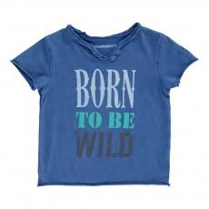 T-Shirt Boxi Bleu