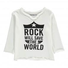 T-Shirt Rock Boxi Blanc