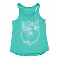 "Débardeur ""Nirvana"" Hilda Bleu turquoise"